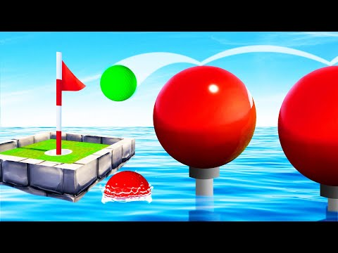 Playing WIPE-OUT In GOLF IT! (Extreme)