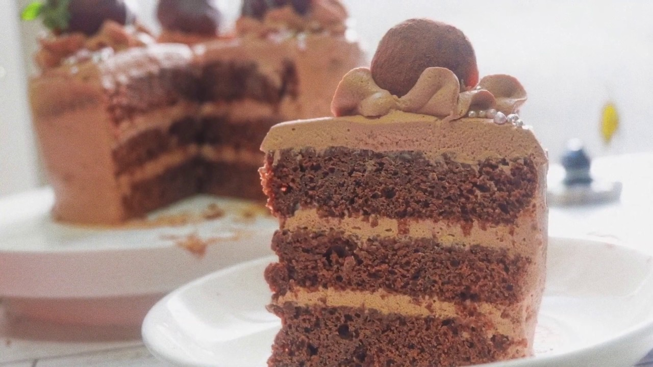 [Không cần lò] Hướng dẫn làm một chiếc Gato Chocolate nhấn mạnh ở chữ KHÔNG CẦN LÒ!