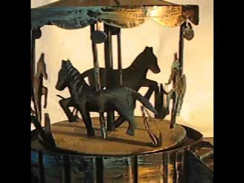 Vintage Children's Musical Carousel