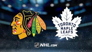 Matthews, Leafs battle back to beat Hawks in OT, 4-3