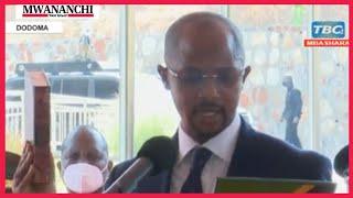 President Samia swears-in Mavura as envoy to South Korea