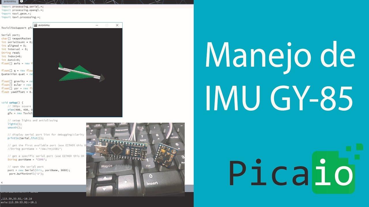 Arduino Tutorial: Avion con acelerometro gy 85 - Arduino Nano