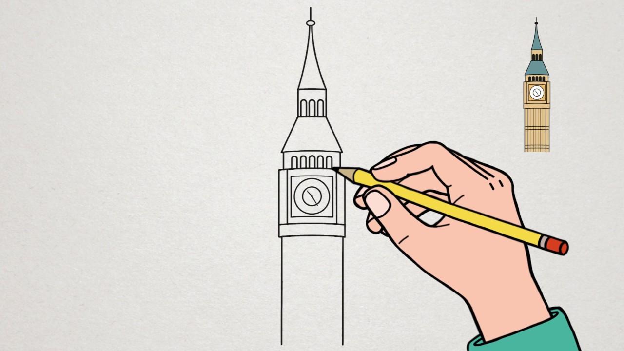 Apprendre à Dessiner Big Ben