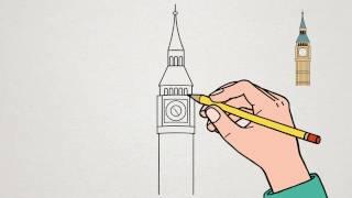 Apprendre à dessiner - Big Ben