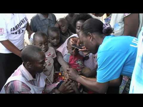 Polio immunization Goma DRC May 2011