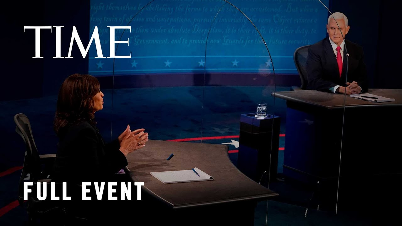 Vice Presidential Debate: Mike Pence and Kamala Harris Face Off In Salt Lake City | LIVE | TIME