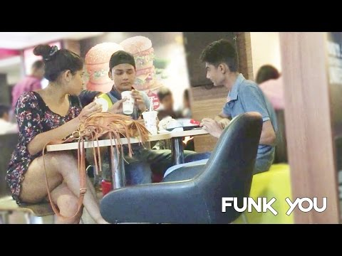 Girl Eating Stranger's Food Prank by Funk You