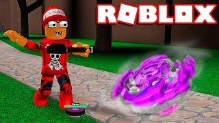 Roblox - DEIXANDO A BEYBLADE MAIS FORTE !! - Roblox Beyblade Rebirth 🎮