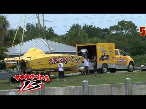 Popeyes Offshore Racing  Sponsorship Promotion