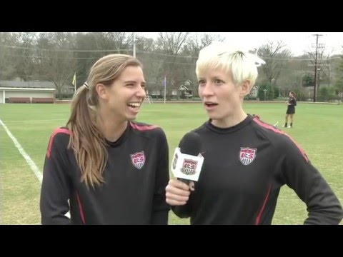 USWNT funny moments