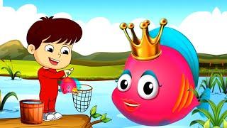 Machali Jal Ki Rani Hai | Hindi Nursery Rhymes | मछली जल की रानी है | Hindi Balgeet | Hindi Poems