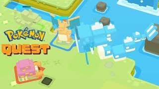 Pokémon Quest - Defeat Final Boss Gyarados in Farside Fjord
