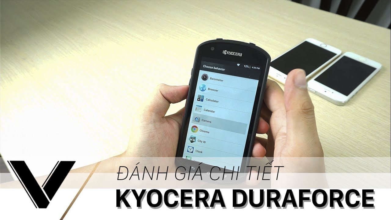 """Đánh giá chi tiết Kyoce DuraForce – Điện thoại danh cho """"PHƯỢT THỦ""""!"""