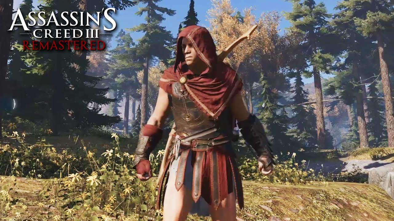 Assassin S Creed 3 Remastered Alexios Outfit Gameplay No Hud Youtube