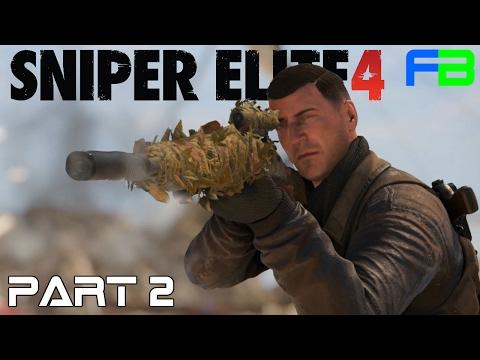 Sniper Elite 4 Gameplay: Part 2 - Bitanti Village