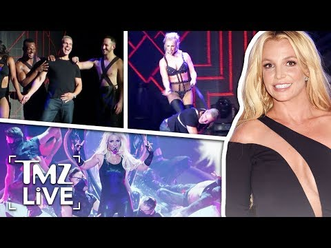 Britney Spears Whips Andy Cohen Onstage | TMZ Live