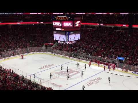 Carolina Hurricanes Goal vs. Minnesota Wild 10/7/17