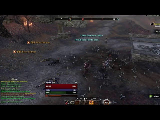 ESO: Best way to farm Solo Alliance Points