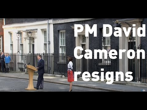 Full speech: PM David Cameron resigns as UK leaves European Union
