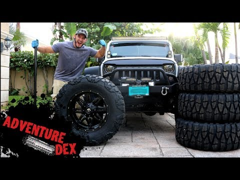 "Jeep Wrangler 37"" Nitto Mud Grapplers!!"