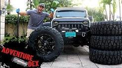 "Jeep Wrangler 37"" Nitto Mud Grapplers!!"