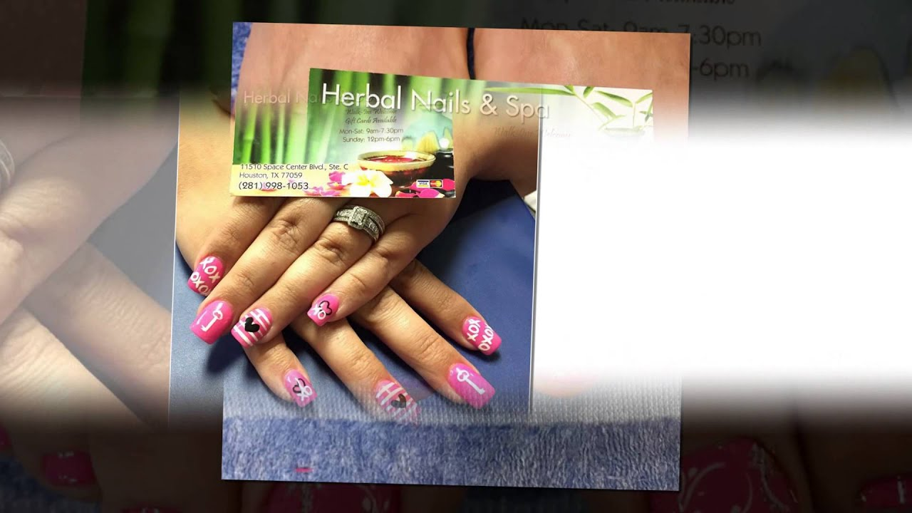 Herbal Nails & Spa, IN Houston TX 77059 (1207) - YouTube