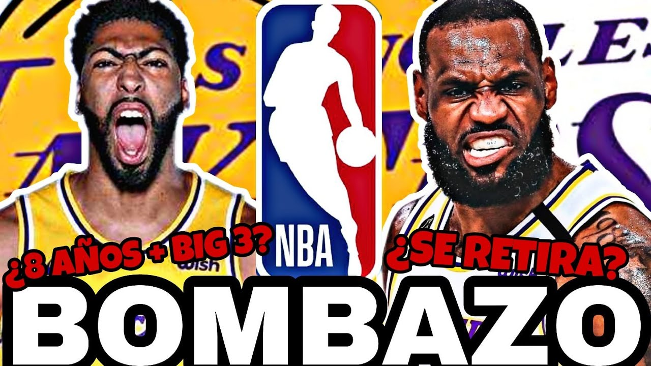 🔥 DESVELADO!! 😱 OFICIAL: LAKERS CAMBIA la NBA!! 💥 FICHAJE BIG 3 y FUTURO!!