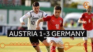 #U17 Group stage highlights: Austria 1-3 Germany