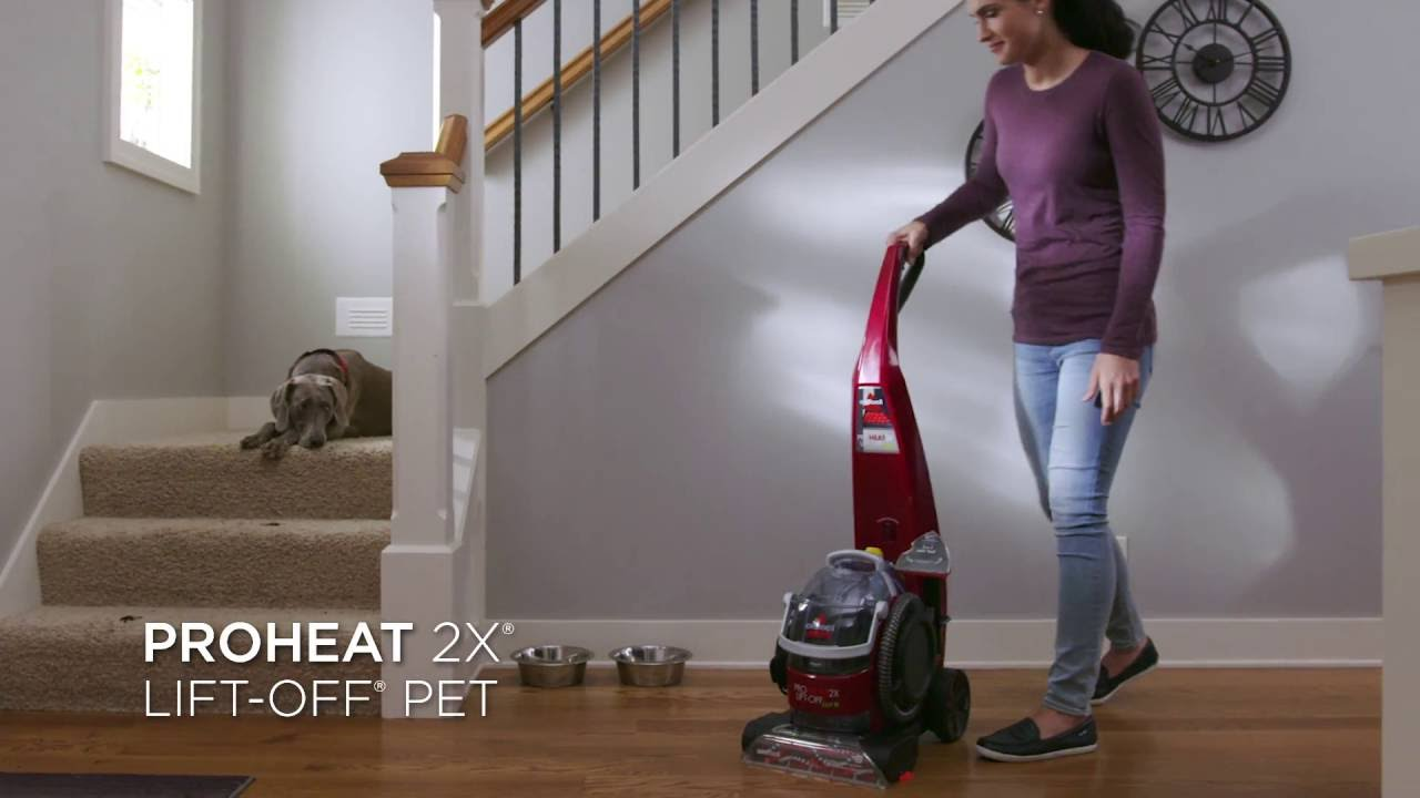 Proheat 2x Lift Off Pet Upright Carpet Cleaner