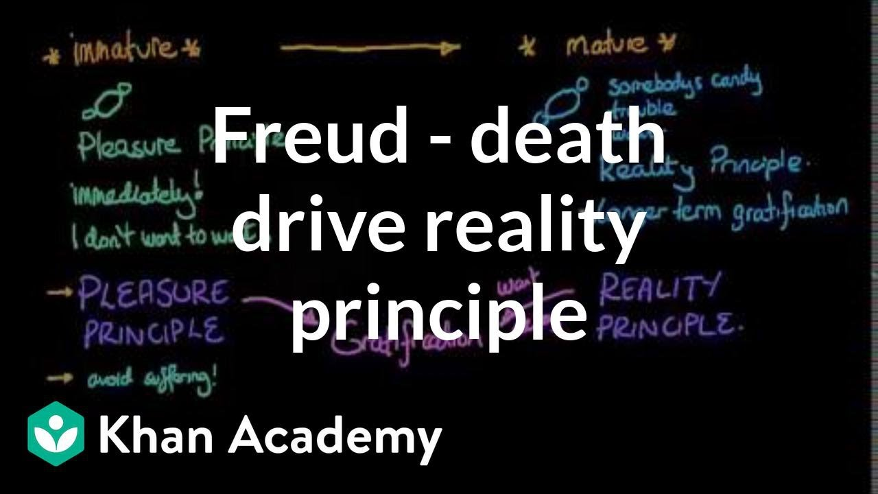 Freud Death Drive Reality Principle And Pleasure Principle