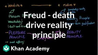 Freud - Death drive, reality principle, and pleasure principle