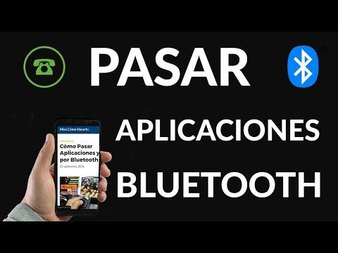 Cómo Pasar Aplicaciones y Juegos por Bluetooth