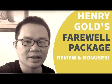 Henry Gold's IM Farewell Package