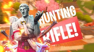 The *NEW* Hunting Rifle! - Fortnite Battle Royale Update