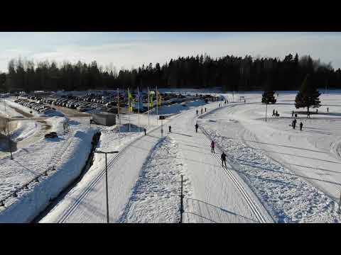 Oittaa Ski point, Espoo Helsinki, Finland