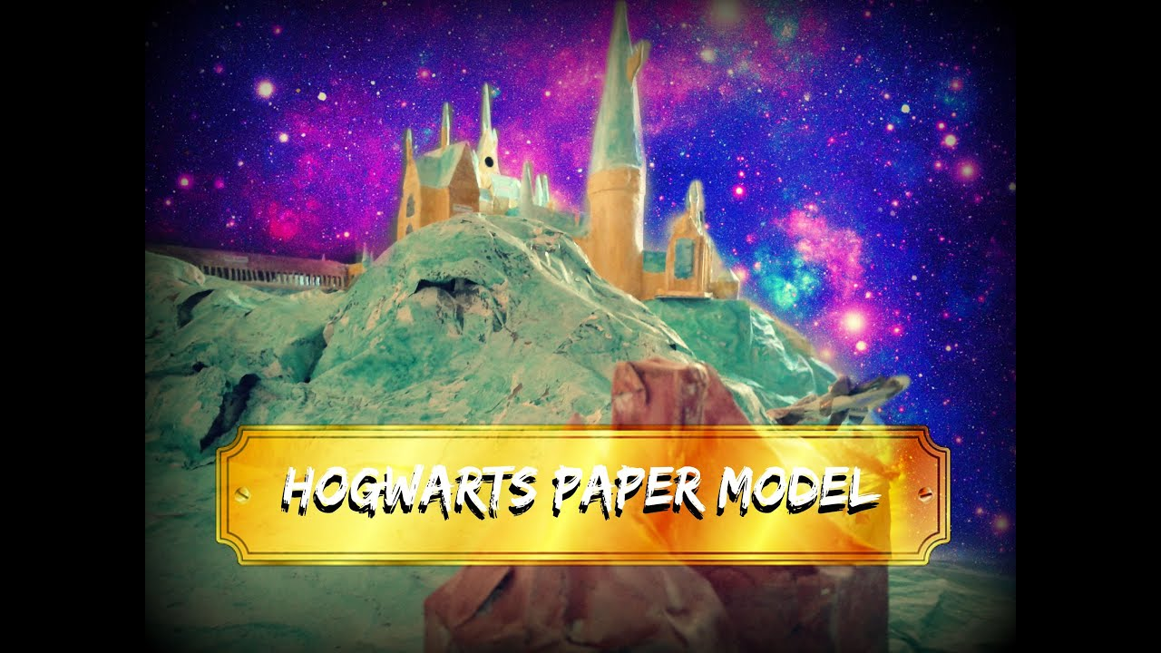 Papercraft Harry Potter - Hogwarts Paper Model