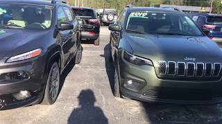 2019 Jeep Cherokee Base Start and Review