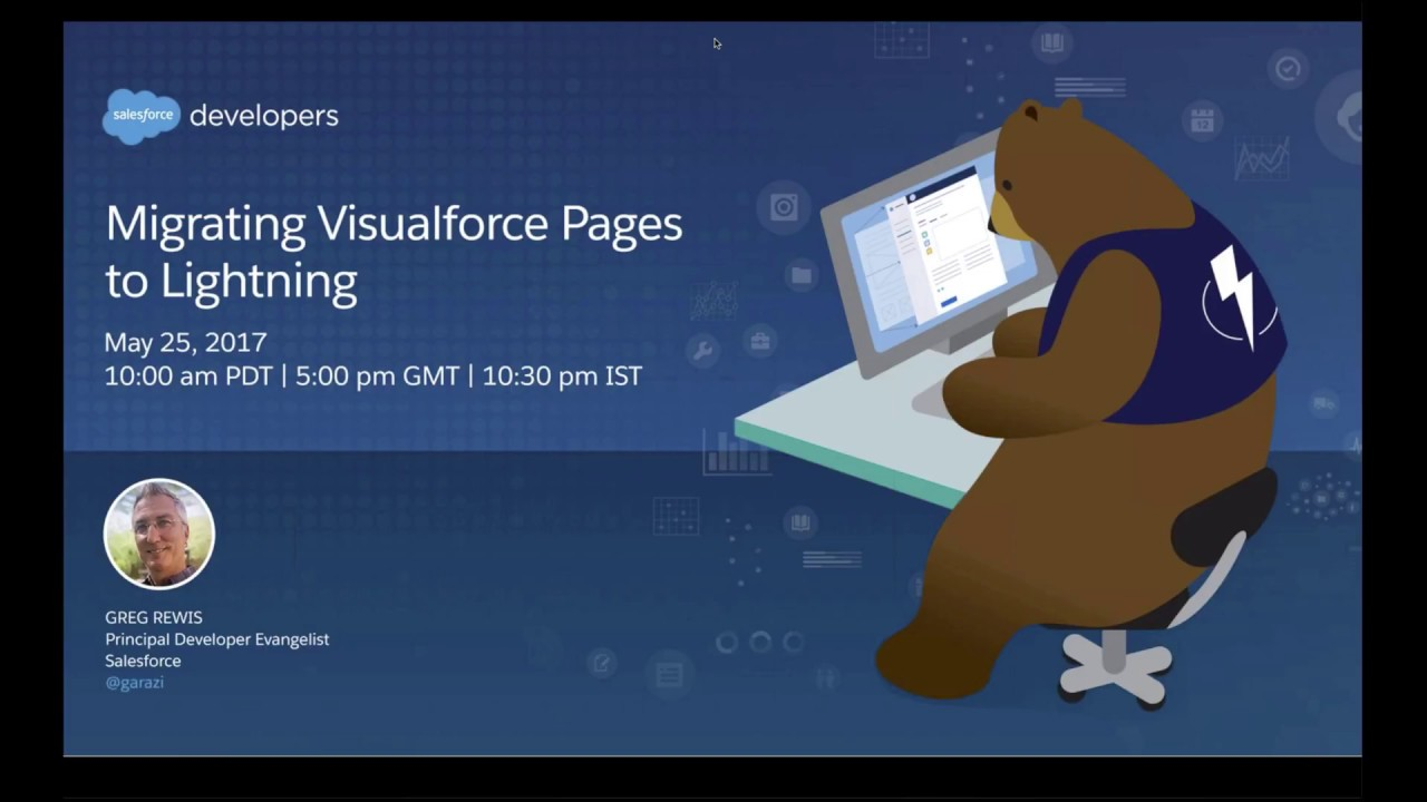 Migrating Visualforce Pages To Lightning Youtube