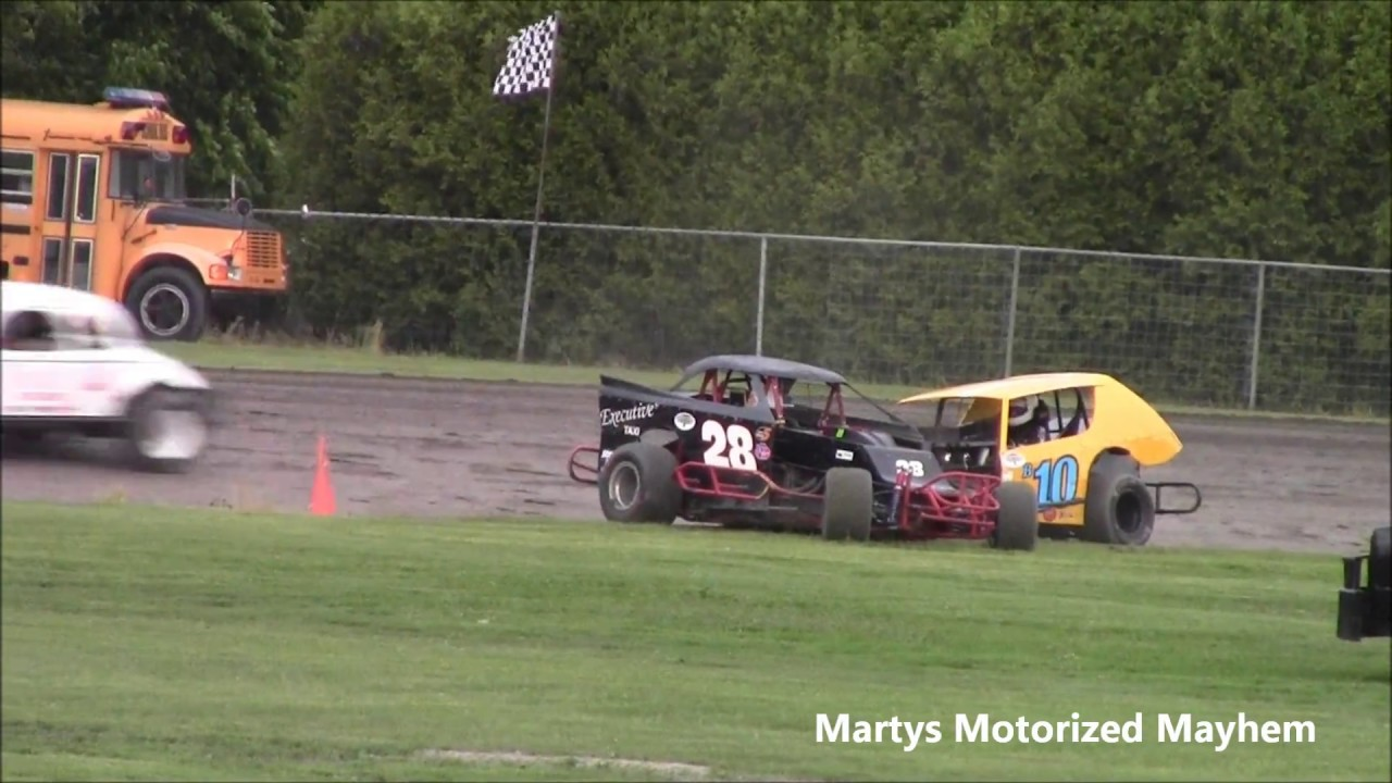 Vintage Modified Feature Race June 12 Cornwall Motor Speedway - YouTube