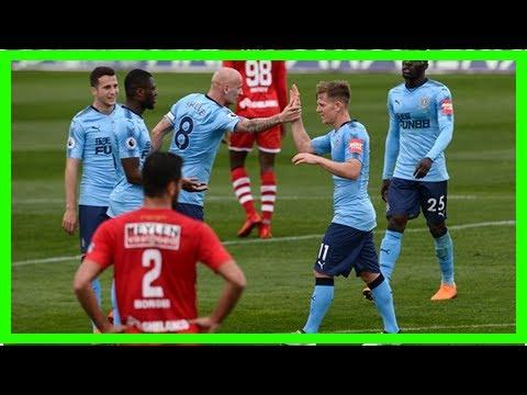 Newcastle 1-1 Royal Antwerp: Matt Ritchie scores in friendly
