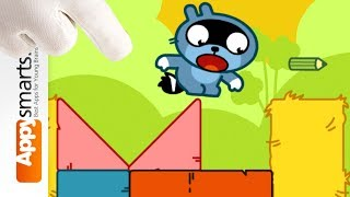 Pango Blocks part 3 (Logic Puzzle Game for Kids) - even more levels solved!