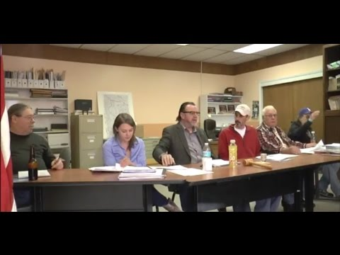 Town of Philipsburg MT Council Meeting, May 5th, 2017