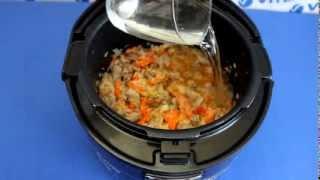 Рецепт приготовления плова со свининой в мультиварке VITEK VT-4208 CL