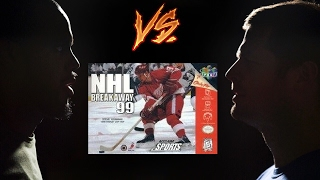 NHL Breakaway 99 - N64 - Retro Sports League - Tom vs Joe - Game 18