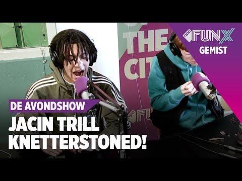 Jacin Trill is KNETTERSTONED tijdens interview bij FunX - De Avondshow