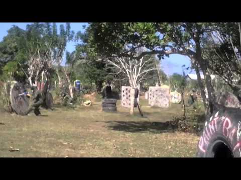 Paintball games at Bali Paintball Arena