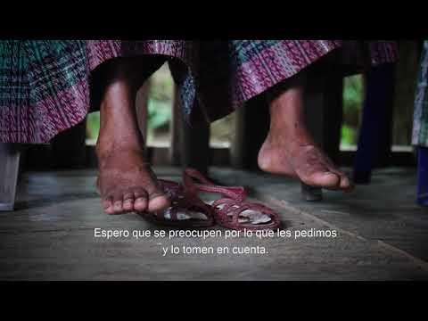 Mujeres de Sepur Zarco luchan y viven para no ser olvidadas por el Estado.