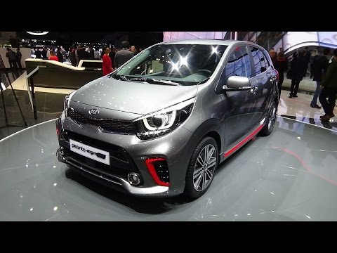 2018 kia picanto gt line exterior and interior geneva motor show 2017 youtube. Black Bedroom Furniture Sets. Home Design Ideas