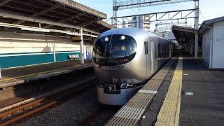 西武001系 001-E1F&西武30000系 38107F 西所沢駅通過 '20.01.19