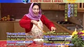 Afghan Samosa Kachaloo (golden Potato Dumplings) (in Dari)